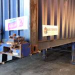 Containers inladen voor Curacao
